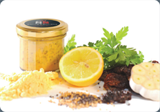 Wholegrain Lemon & Cracked Pepper Mustard