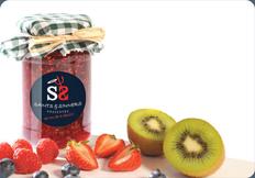 Rhubarb, Strawberry & Vanilla Jam