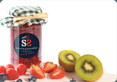 Raspberry & Pistachio Jam